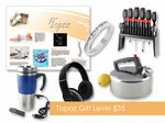 Custom $35 Gift of Choice Topaz Level Gift Booklet