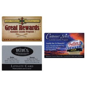 Loyalty/Rewards Card