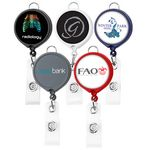 Custom Large Face Badge Reel (Polydome)