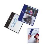 Custom Flip Flap Photo Mouse Pad (Holds 2 Photos) (Chroma Digital Direct Print)