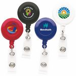Custom Good Round Retractable Badge Reel (Chroma - Digital Direct Print)