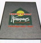 Custom (3'x4') Logo Pin Multi-Color Imprint Custom Design Carpet (2 Color)