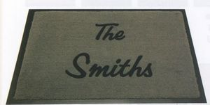 (18x27) Olefin Name Dropper Personalized Carpet