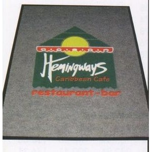 (4'x6') Logo Pin™ Multi-Color Imprint Custom Design Carpet (2 Color)