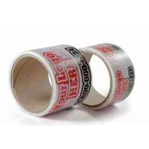 "Printed Tape Roll (3""x110 Yards)"