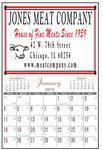 Custom Commercial Half Apron Wall Calendar (4 3/8