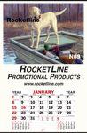 Custom First Hunt Jumbo Queen Mary Indoor Billboard Wall Calendar