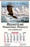 Custom Height of Freedom Jumbo Queen Mary Indoor Billboard Wall Calendar