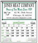 Custom Commercial Half Apron Wall Calendar 20