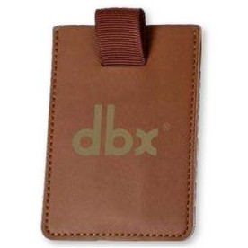 CardSafe Leather Cell Phone Wallet