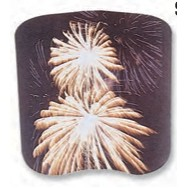 Stock Event Fireworks Hand Fan