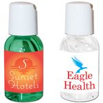 Custom 1 Oz. Hand Sanitizing Gel Press-Top Bottle