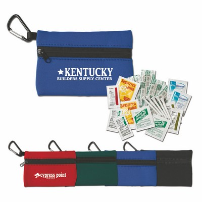Golf First Aid Kit in Neoprene Pouch
