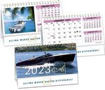 Custom Custom Double View Desk Calendar