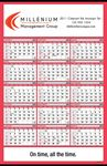 Custom 15 Month Double Ad Wall Calendar