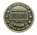 Custom Rubber Mold Cast Coin (Up To 2