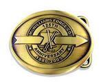 Custom Brass Die Struck Belt Buckle
