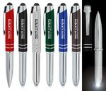 Custom TriLus Stylus Light Pen - All Metal