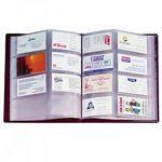 Custom Stock Vinyl Executive Business Card File