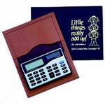 Custom Top Grain Leather Escort Business Card Case