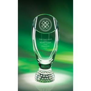 Profile Cup Crystal Golf Award (Small)