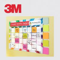 374548688-125 - Post-it® Custom Printed Planner with Post-it® Full Adhesive Notes - thumbnail