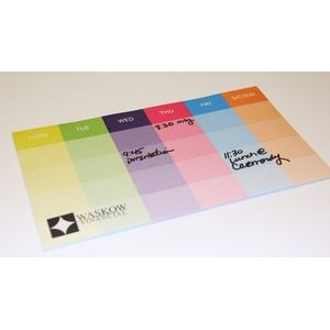 "Post-it® Custom Printed Organizational Notes (6""x10"") - 25 Sheets"
