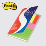 Custom Post-it Note & Flag Organizer/ Plastic Flags & Notes w/ Cover
