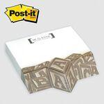 Custom Post-it Custom Printed Angle Note Pad - (4