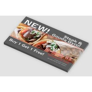 "Custom Printed Post-it® Notes (5""x2 7/8"") 25 Sheets/ 4 Color"