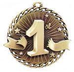 Custom 1st Place Stock Medal (2