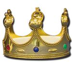 Custom Gold Crown w/ Round Spires (4