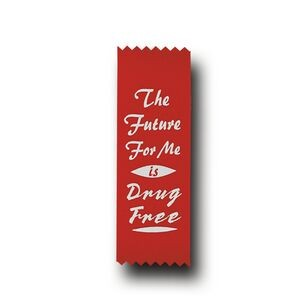 Red Stock The Future For Me is Drug Free Econo Drug Free Ribbon