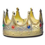 Custom Gold Crown w/ Jewel Stones (4 1/2
