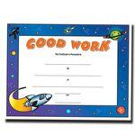 Custom Good Work Stock Certificate