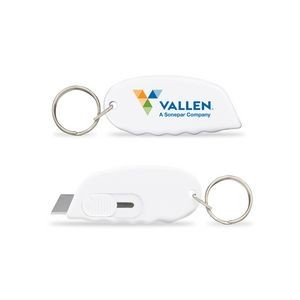 Safety Cutter Key Tag