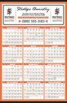Custom Yearly Calendar w/Large Date