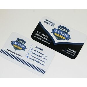 "3.5"" x 2"" Aluminum Business / Membership Card with a Full Color, Sublimated imprint. Made in USA."