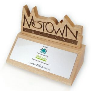 Logo on Base Wood Trophy / Award / Recognition