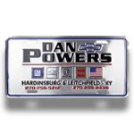Custom Custom Embossed Metal Auto License Plate (6