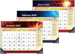 Custom Full-Color Imprint Custom Deskmate Desk Pad Calendar