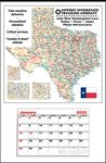 Custom Large State Maps-Full Apron Calendar-Texas