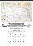 Custom Nebraska State Map Calendar - Small Full Apron