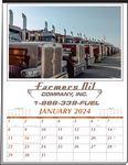 Custom Custom 12 Sheet Executive Calendar