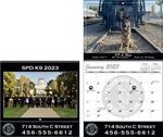 Custom Full-Color-Small Quantity w/ Drop Ad Back Cover 12-Month Appointment Calendar