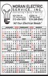 Custom Popular 1-Color Imprint Year-In-View Calendar