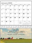 Custom Heartland Vista Single Pocket Calendar