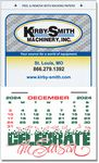 Custom Kwik-Stik Grand Textured Vinyl Calendar