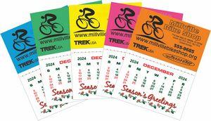 Kwik Stik Mini Neon Padded Calendar