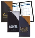 Custom 2 Tone Vinyl Designer Series Barcelona Planner - Monthly 1 Color